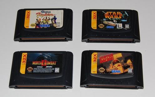 32X Cartridges