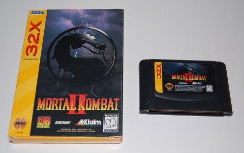 32X Mortal Kombat 2