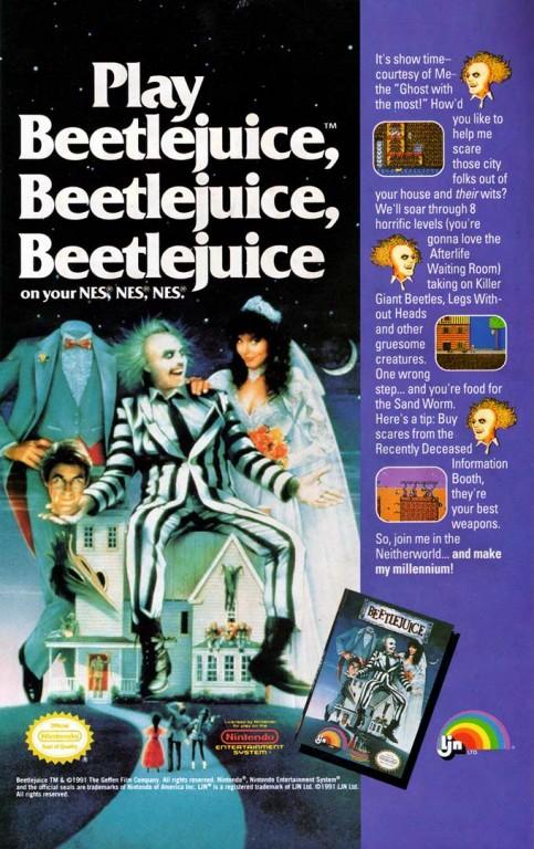 Beetlejuice Ad