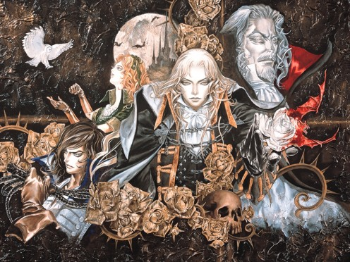 Castlevania Symphony of the Night Artwork