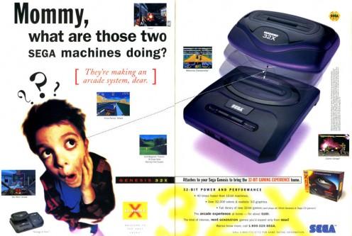 Sega 32X Magazine Ad