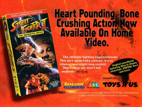 Street Fighter II Movie Ad