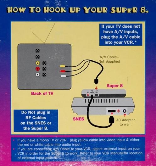 Super 8 Instructions