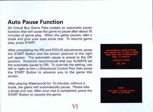 Waterworld Manual Page 7