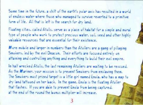 Waterworld Manual Page 11