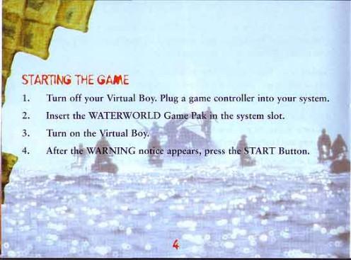 Waterworld Manual Page 12