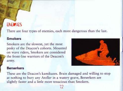 Waterworld Manual Page 20